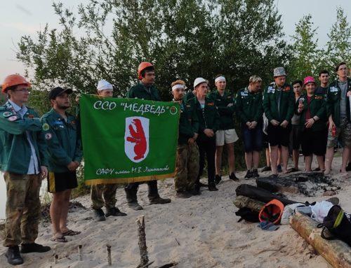 Строительные отряды Архангельской области трудятся в Кингисеппе