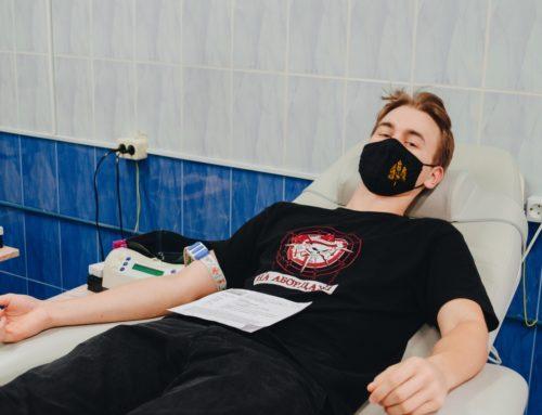 Студенческие отряды приняли участие в донорской акции «Спаси жизнь»